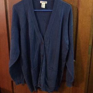 Talbots Sweater XL Blue